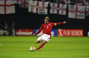 David Beckham of England