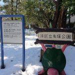 【散歩】亀塚公園の冬を撮ってきました【写真】