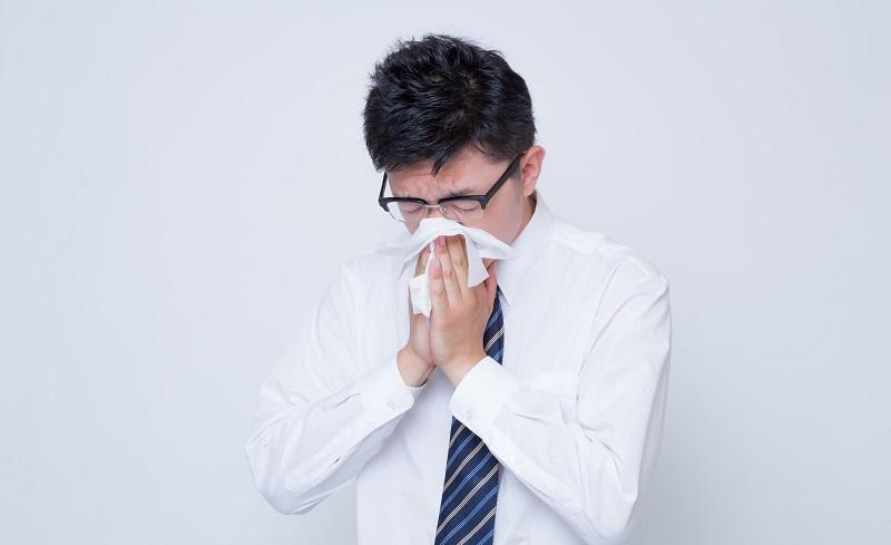 鼻詰まり、鼻をかむ